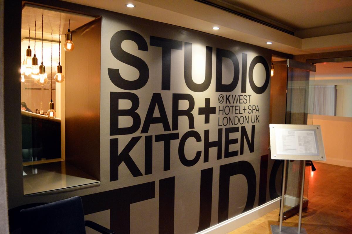 dinner @ studio kitchen // k west hotel london ✈ misstraveltheworld